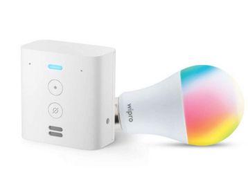 Echo Flex bundle with Wipro 12W LED smart color bulb, At Rs.2278