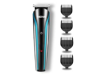 Nova NHT 1073 USB Rechargeable and Cordless: 60 Minutes Runtime Professional Hair Clipper for Men