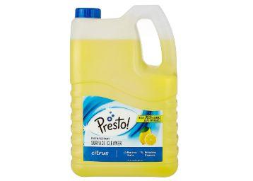 Amazon Brand - Presto! Disinfectant Surface/Floor Cleaner - 5 L (Citrus), Pack of 1