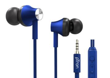 in-Ear Wired Headphones with in-line Mic, At Rs.199