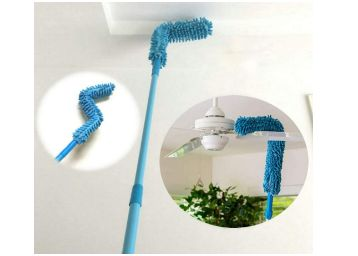 WIDEWINGS Foldable Microfiber Fan Cleaning Duster Flexible Fan mop for Quick and Easy Cleaning of Home, Kitchen, Car, Ceiling, and Fan Dusting Office Fan...