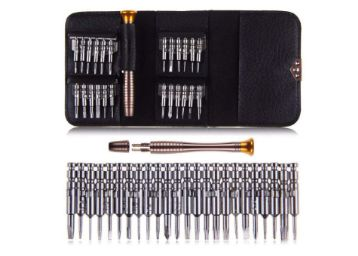 THEMISTO - built with passion 27 in 1 Precision Screwdriver Set Multi Pocket Repair Tool Kit for Mobiles, Laptops, Electronics