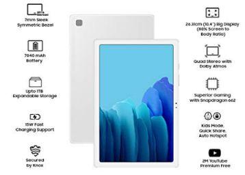 Samsung Galaxy Tab A7 26.31 cm (10.4 inch)   RAM 3 GB, ROM 32 GB Expandable