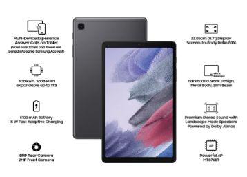 Buy Samsung Galaxy Tab A7 Lite 22.05 cm (8.7 inch)   RAM 3 GB, ROM 32 GB Expandable
