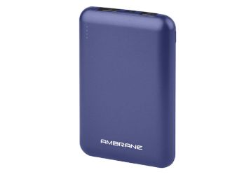 Buy Ambrane 10000 mAh Compact Power Bank with Fast Charging, Dual Output, Made in India