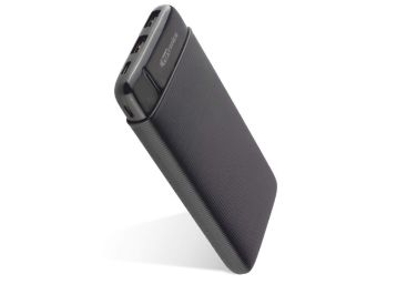 Buy Portronics Power PRO 10K 10000mAh Power Bank with Dual Output Emergency Mobile Charger (Black)