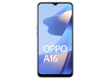 Flat Rs. 2899 HDFC off - OPPO A16 (Pearl Blue, 4GB RAM, 64GB Storage) At Rs. 11091