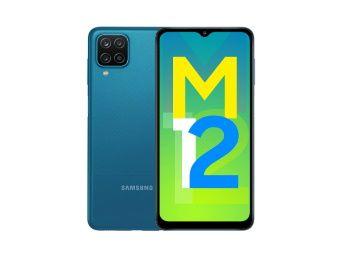 Samsung Galaxy M12 (Blue,4GB RAM, 64GB Storage) 6000 mAh At Rs. 9499 + Extra 10% HDFC off