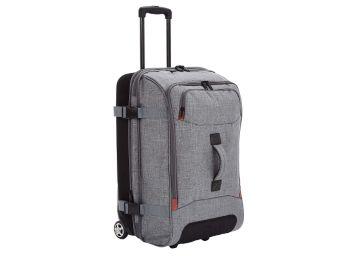 Buy AmazonBasics Rolling Travel Duffel Bag Luggage with Wheels, Medium, Grey