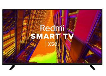 Redmi 126 cm (50 inches) 4K Ultra HD Android Smart LED TV AT Rs. 32999 + 10% HDFC off