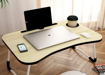 Home foldable portable adjustable multifunction laptop study lapdesk table, At Rs.499