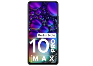 Redmi Note 10 Pro Max (Dark Night, 6GB RAM, 128GB Storage) At Rs. 1999 + Extra 10%v HDFC off