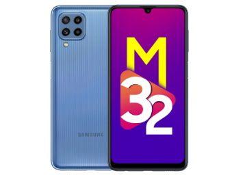 Samsung Galaxy M32 (Light Blue, 4GB RAM, 64GB Storage) At Rs. 12499
