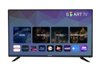 Buy eAirtec 81 cms (32 inches) HD Ready Smart LED TV 32DJSM (Black) (2020 Model)