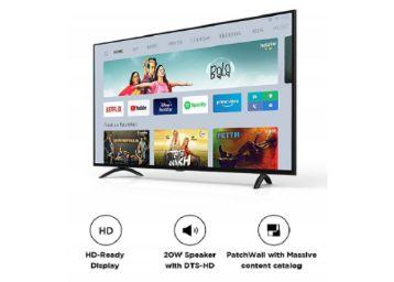 Buy Mi 80 cm (32 inches) HD Ready Android Smart LED TV 4A PRO | L32M5-AL (Black)