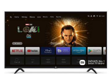 Buy Mi 108 cm (43 Inches) 4K Ultra HD Android Smart LED TV 4X|L43M4-4AIN (Black)