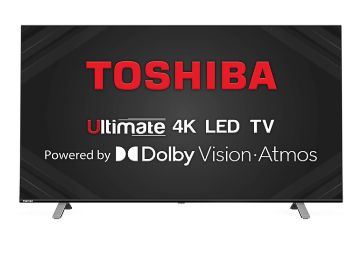 Buy Toshiba 108 cm (43 inches) Vidaa OS Series 4K Ultra HD Smart LED TV 43U5050 (Black) (2020 Model) | With Dolby Vision and ATMOS