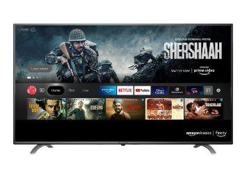 Buy AmazonBasics 139cm (55 inch) 4K Ultra HD Smart LED Fire TV AB55U20PS (Black)