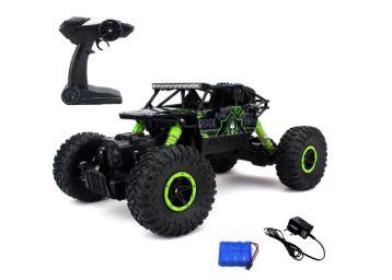 Buy Flyers Bay Rock Through Bay Rock Crawler 1:18 Scale 4Wd Rally Car - The Mean Machine, Green