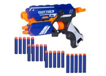 Buy WISHKEY Plastic Blaze Storm Manual Soft Bullet Gun Toy with 20 Safe Soft Foam Bullets, Fun Target Shooting Battle Fight Game for Kids