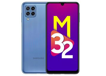 Samsung Galaxy M32 (Light Blue, 4GB RAM, 64GB Storage)