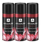 Aramusk Musk Deodorant Body Spray for Men