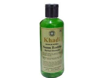 Khadi Natural Herbal Khadi Neem Reetha shampoo 210 ml At Rs. 62