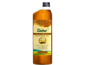 Buy Dabur Cold Pressed Mustard Oil -1L : Healthy Cooking Oil with the Goodness of Omega 3 & 6