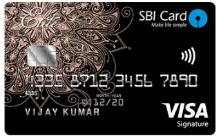 Image result for SBI ELITE  Credit Card