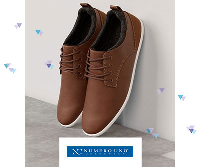 Get 60 % OFF on Numero UNO Footwears + Bank Offers !!! low price