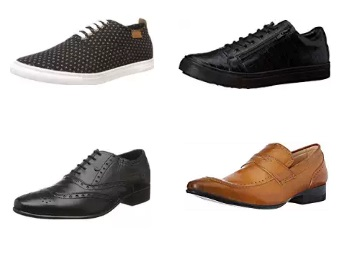 Franco Leone Men's Footwear 50% off or more from Rs. 673 discount offer