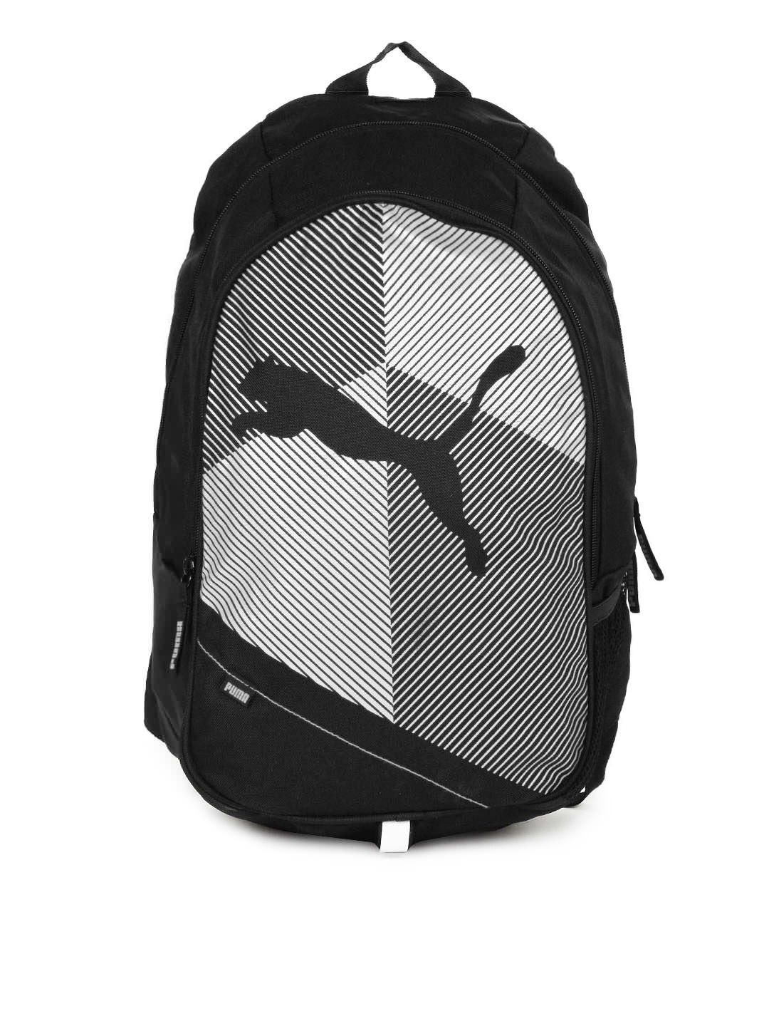 Puma Unisex Echo Plus Black & White Backpack low price