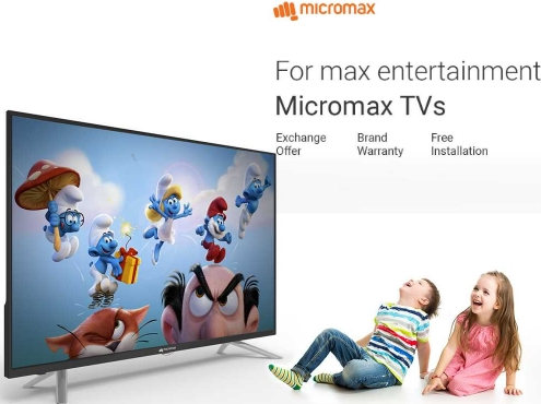 Great Offer on Micromax LED, LCD TV's Upto 70% OFF + Exchange offer discount offer