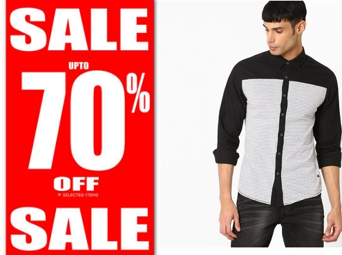 Ajio Lucky Size Sale – Get Upto 70% OFF on All Fashion Products + More Offers Inside discount offer
