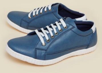 Zudio Navy Sneaker Shoes low price