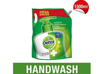 15% Code :- Dettol Hand wash Refill -1500 ml [Buy 2 at Rs. 50 Cashback] discount deal