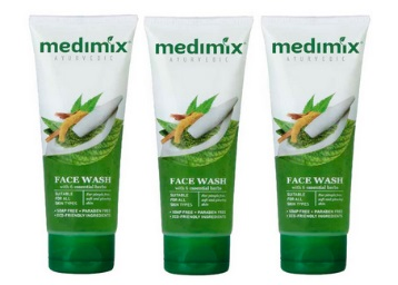 Medimix Face Wash Essential Herbs 100 ml (Pack of 3)