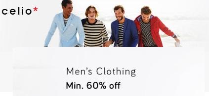 Celio Men's Clothing low price