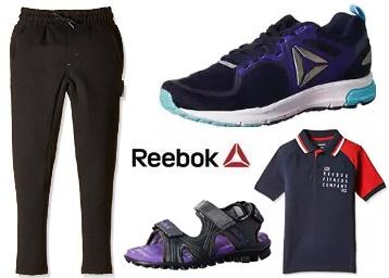 REEBOK Clothings, Footwears & Accessories low price