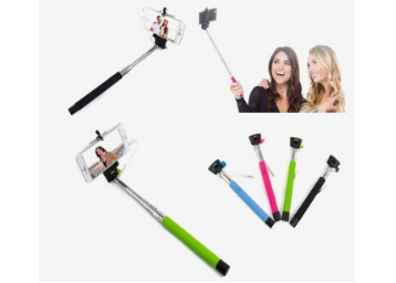Novel Selfie Stick With Aux (Assorted) low price