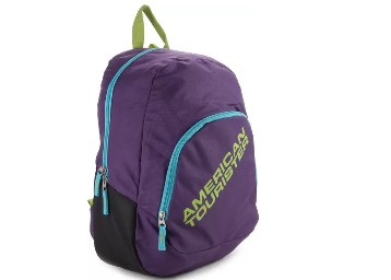 American Tourister Jasper Backpack (Purple) at FLAT 55% Off low price