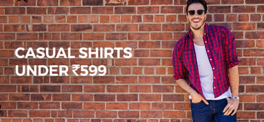 Men's Casual Shirts low price