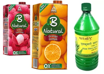 Grab Fruit Juices From B Natural, Farm Naturelle &amp low price