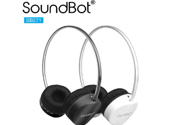 Lightning Deal! SoundBot Wireless Headphone With Built-in Mic low price