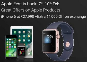 The Apple Fest @ Flipkart low price
