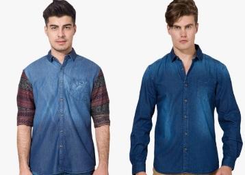 Men Denim Shirt & Jeans low price