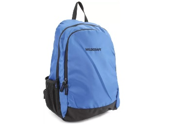 Wildcraft Pivot Blue Backpack  (Blue) low price