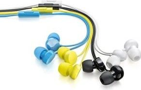 Set Of 3 Coloured Earphones low price
