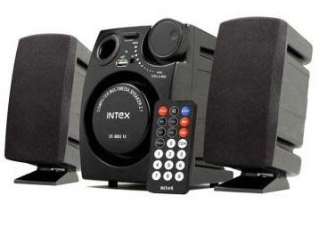 Lowest Online :- Intex IT 881U 2.1 Computer Speaker low price