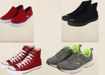 Men's shoes from Converse & Fila